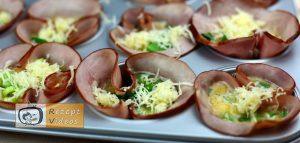Schinken-Eier-Muffins Rezept Zubereitung Schritt 4