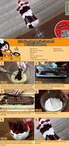 Schoko-Brownie-Dessert mit Himbeeren Rezept mit Video
