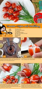 Tomaten-Tulpen mit Fetafüllung Rezept mit Video