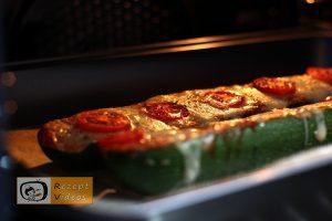 Zucchini-Pizza Rezept - Zubereitung Schritt 5
