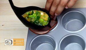 Schinken-Eier-Muffins Rezept Zubereitung Schritt 3