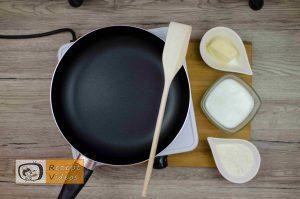 Sandwich-Torte mit Béchamelsoße Rezept Zubereitung Schritt 1