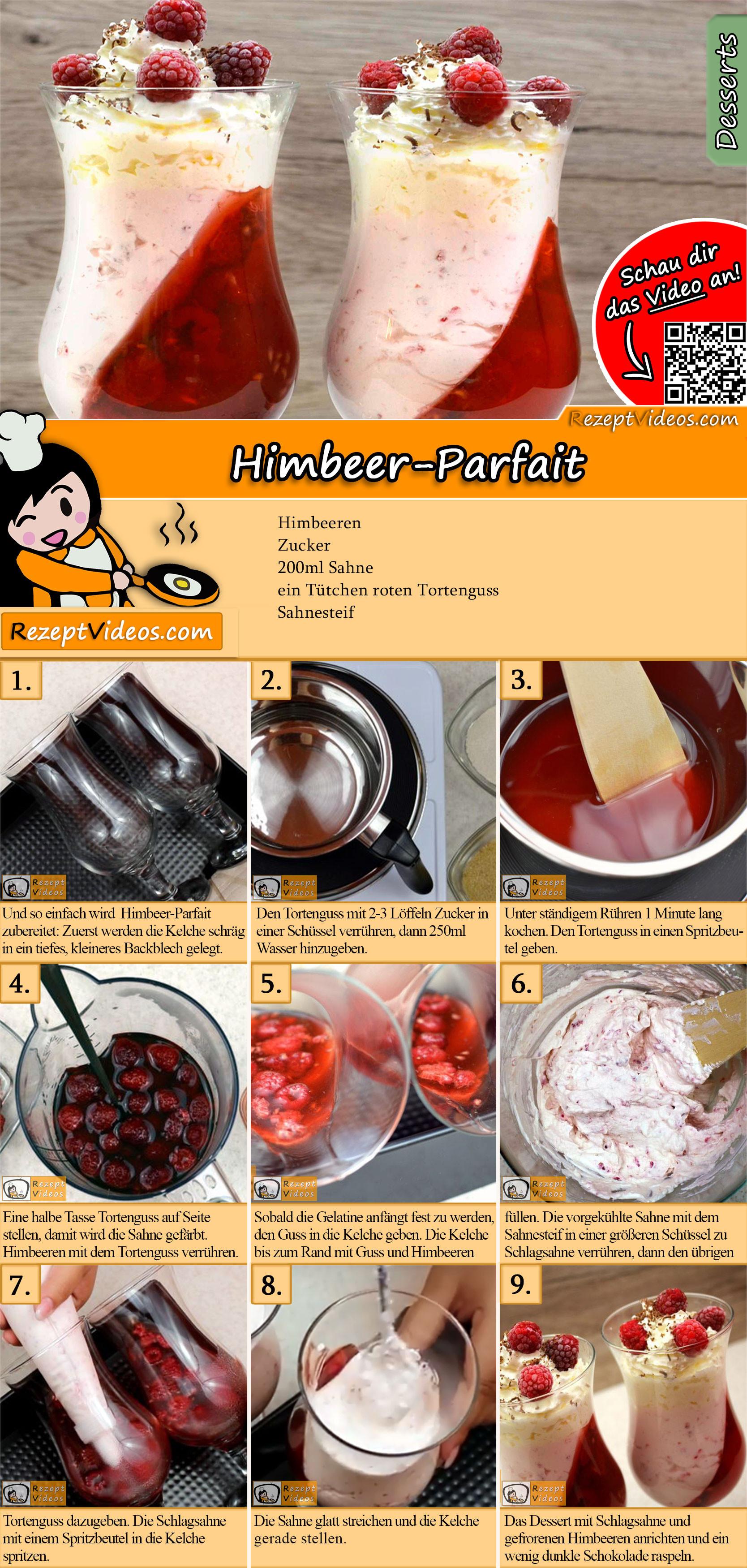 Himbeer-Parfait Rezept mit Video