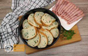 Sandwich-Torte mit Béchamelsoße Rezept Zubereitung Schritt 4