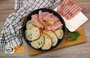 Sandwich-Torte mit Béchamelsoße Rezept Zubereitung Schritt 5
