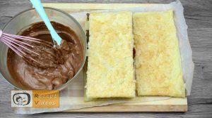 Himbeer-Schoko-Kuchen - Rezept Zubereitung Schritt 9