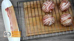 Fleischbällchen mit Bacon - Rezept Zubereitung Schritt 4