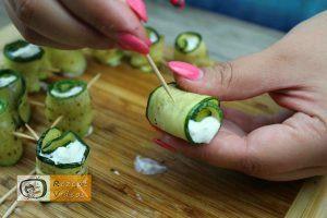 Zucchini Rollen Rezept - Zubereitung Schritt 8