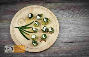 Zucchini Rollen - Rezept Ideen