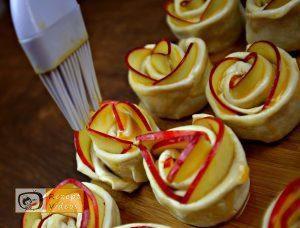 Apfelrosen Rezept - Zubereitung Schritt 4