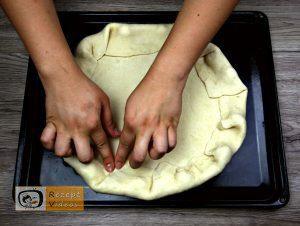 Floras Pizza Rezept - Zubereitung Schritt 2