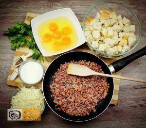 Bacon-Eier-Torte Rezept - Zubereitung Schritt 1