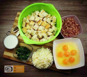 Bacon-Eier-Torte Rezept - Zubereitung Schritt 2
