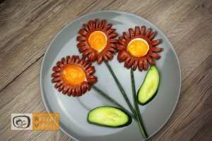 Würstchen-Margeriten