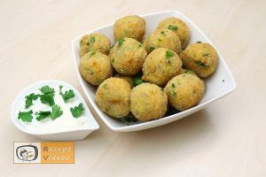 Zucchini-Käse-Bällchen - Rezept Videos