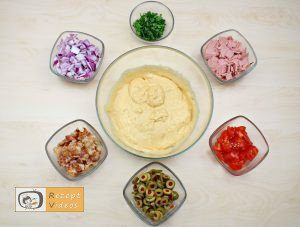 Rustikales mediterranes Brot Rezept - Zubereitung Schritt 2