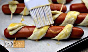 Hotdog-Schlangen Rezept - Zubereitung Schritt 9