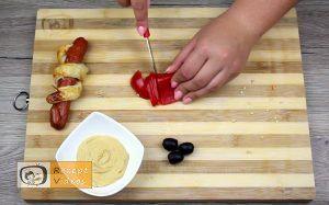 Hotdog-Schlangen Rezept - Zubereitung Schritt 11