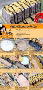 Keks-Eiscreme-Torte Rezept mit Video