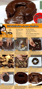 Schokoladen-Lava-Kuchen Rezept mit Video