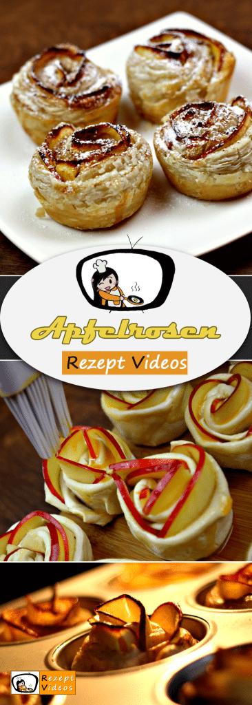 Apfelrosen, Rezept Videos, leckere Rezepte, einfache Rezepte, Apfel Rezepte, Kuchen Rezepte, Frühstücksrezepte, Rezept Videos,