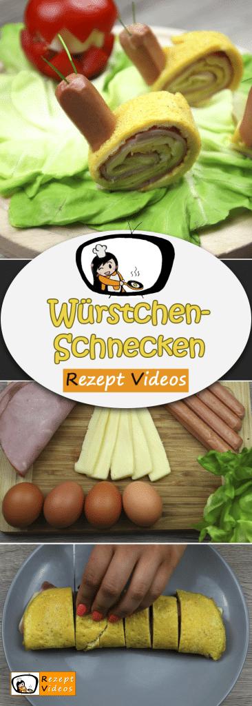Würstchen-Schnecken, Rezept Videos, einfache Rezepte, Partyfood, Fingerfood, Party Rezept, Frühstücksrezepte, Frühstück Rezept, Kinder Rezept, leckere Rezepte