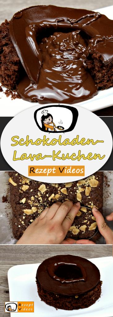 Schokoladen-Lava-Kuchen, Rezept Videos, einfache Rezepte, Kuchen Rezepte, Nachspeise Rezept, leckere Rezepte