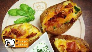 Gefüllte Backkartoffeln mit Bacon