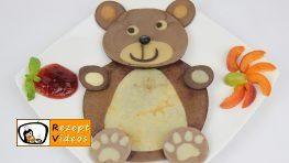 Bärchen-Pfannkuchen