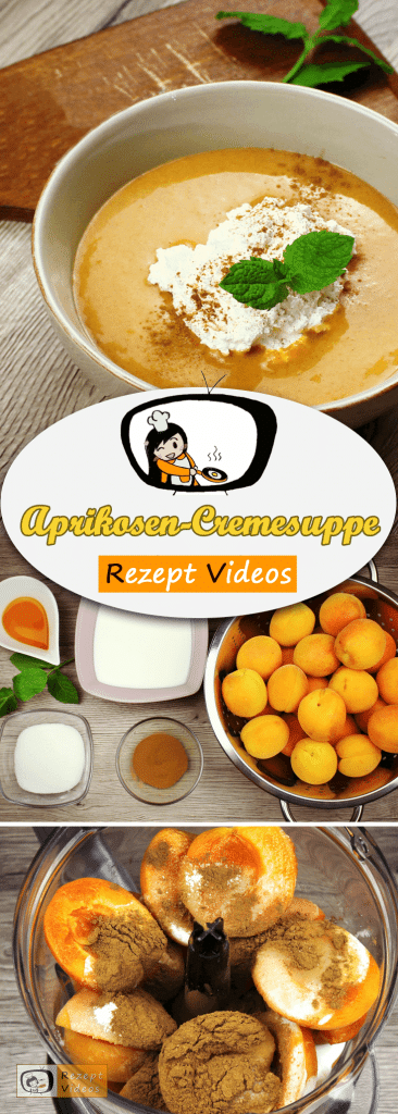 Aprikosen-Cremesuppe, Kuchen, Rezept Videos, einfache Rezepte, Sommer Rezepte, leckere Rezepte