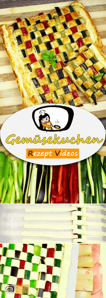 Gemüsekuchen, Rezept Videos, leckere Rezepte, einfache Rezepte, Gemüse Rezepte, schnelle Rezepte