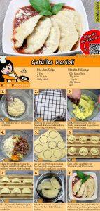 Gefüllte Ravioli Rezept mit Video