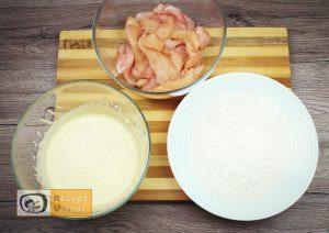 Hähnchensticks im Knoblauchsauerrahm-Mantel Rezept - Zubereitung Schritt 3