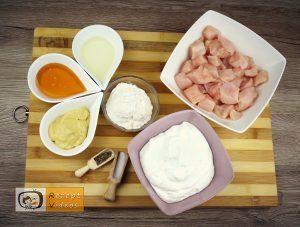 Hähnchenbrust mit Honig und Senf Rezept - Zubereitung Schritt 1