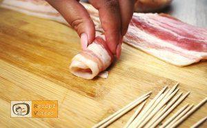 Hähnchen-Happen im Speckmantel Rezept - Zubereitung Schritt 4