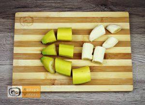 Mit Haselnusscreme gefüllter Bananenkranz Rezept - Zubereitung Schritt 1