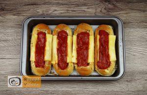 Hotdog mit Bolognesesauce Rezept - Zubereitung Schritt 5