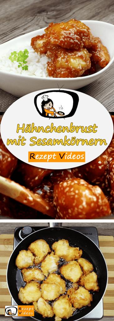 Hähnchenbrust mit Sesamkörnern, Rezeptvideos, leckere Rezepte, einfache Rezepte, chinesisch Rezept, Frühstück Rezepte, Frühstücksrezepte, schnelle Rezepte, Hähnchen Rezepte