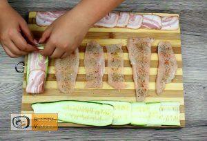 Hähnchenbrust-Rose mit Bacon Rezept - Zubereitung Schritt 3
