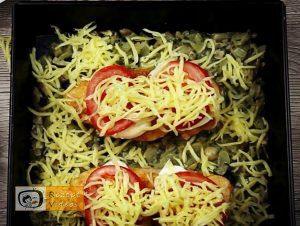 Hähnchenbrust mit Käse und Pilzen Rezept - Zubereitung Schritt 4