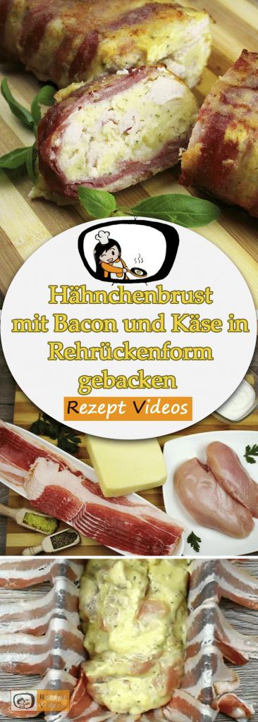 Hähnchenbrust mit Bacon und Käse, Rezeptvideos, einfache Rezepte, Hähnchenrezepte, leckere Rezepte
