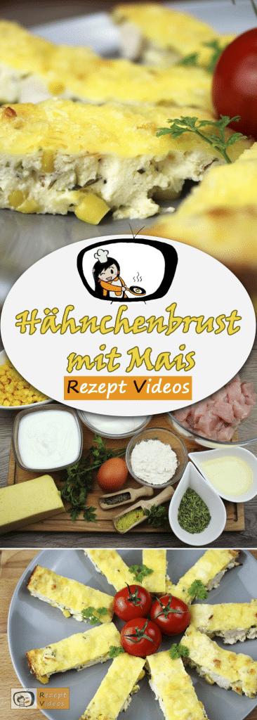 Hähnchenbrust mit Mais, Rezept Videos, einfache Rezepte, Hähnchenrezepte, leckere Rezepte