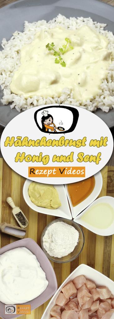 Hähnchenbrust mit Honig und Senf, Rezeptvideos, einfache Rezepte, Hähnchenrezepte, leckere Rezepte