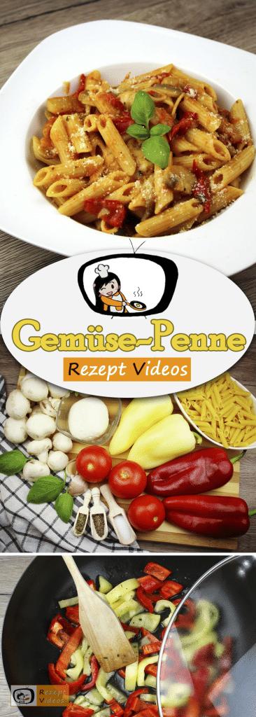Gemüse-Penne, Rezept Videos, leckere Rezepte, einfache Rezepte, Gemüse Rezepte, schnelle Rezepte