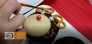 Rentier-Muffins Rezept Zubereitung Schritt 12