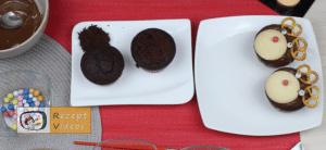Rentier-Muffins Rezept Zubereitung Schritt 6