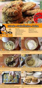 Schoko-Haferflocken-Kekse Rezept mit Video