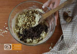 Schoko-Haferflocken-Kekse Rezept Zubereitung Schritt 4