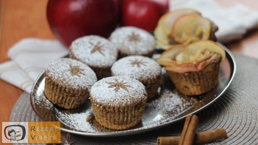 Zimt-Apfelkuchen-Muffins