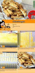 Käsestangen Rezept mit Video